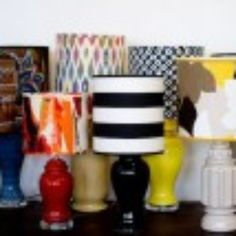 upholstery basics: how to make a lampshade