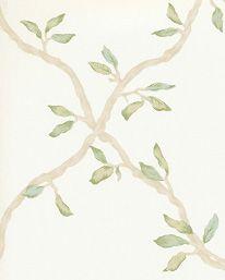 Tapet Leaf Trellis Ivory/Green från Colefax & Fowler (artikelnummer 57579 ) hittar du på Tapetorama, Skandinaviens ledande butik för tapeter och tyger. Tyger, Pattern Wallpaper, Trellis, Pattern Design, Master Bedroom, Decals, Textiles, Leaves, Display