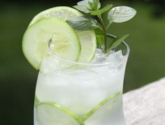 Best Ever Gin and Tonic (Mint-Basil, and Cucumber)