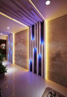 extraordinary ceiling design ideas for all rooms 14 Wall Panel Design, Wall Decor Design, Door Design, House Ceiling Design, House Design, Home Entrance Decor, Plafond Design, Lobby Interior, Kitchen Interior