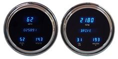 DAKOTA DIGITAL DASH 54 CHEVY 55 SERIES ONE PICKUP 6 GAUGE CLUSTER VFD3-54C-PU - Phoenix Tuning