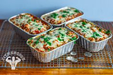 Sweet Potato Lasagna Meal Prep (FitMenCook) Just plain delicious. ♥