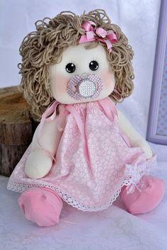 My Child doll. My Child Doll, Homemade Dolls, Felt Decorations, Sewing Toys, Doll Hair, Soft Dolls, Doll Crafts, Fabric Dolls, Doll Patterns