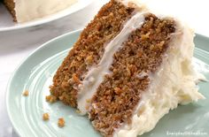 Our moist carrot cake recipe melts in your mouth. The secret is all about what happens when it's out of the oven—plus that extra creamy frosting.