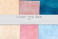 Under the Sea on Craftsuprint  #cardmaking #scrapbooking #papercrafts #digiscrap