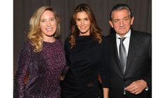 New Yorkers celebrated the premiere of the documentary The Hospital in the Sky—starring Cindy Crawford—in a private screening event hosted by OMEGA, Erin Kilday, Cindy Crawford, Stephen Urquhart