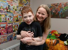 From the Daily Mail: A boy suffering from more than 110 seizures a day is trying raise £65,000 to fund treatment that could eliminate his convulsions for good.  Max McGhie, 13, from East Kilbride, Scotland, has a rare form of drug-resistant epilepsy which is so severe he has almost lost the ability to speak.  Max and his family now hope that treatment in the U.S. could offer a way out, and perhaps eliminate his seizures for good