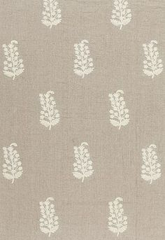 Charleroi Paisley Embroidery Schumacher Fabric Fabric SKU - 65220 Width - Horizontal Repeat - Vertical Repeat - Abrasion Results - Wyzenbeek Fabric Content - Linen / Cotton Country of Finish - India Textiles, Textile Patterns, Textile Design, Print Patterns, Textile Prints, Paisley Embroidery, Embroidery Designs, White Embroidery, India Home Decor
