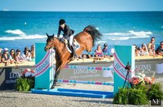 Edwina Tops-Alexander & Lintea Tequila (Australia), winners of the 1st Global Champions Tour leg ~ Miami Longines Global Champions Tour 2016 ~ Longines Global Champions Tour Grand Prix [09/04/16]