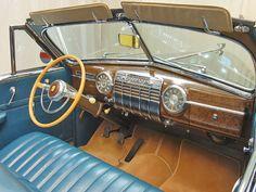 1941 Cadillac Series 62 Convertible: Dash View