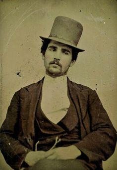 Hot Vintage Men: Tintype Hottie