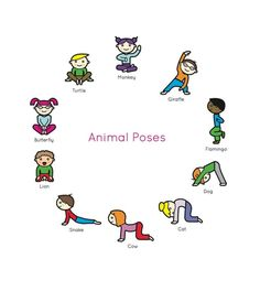 Yoga for kids...animal poses!