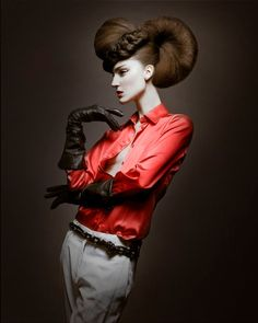 Collection: GOLDWELL'S Knight Rider || Artistic Director: Dimitrios Tsioumas || Creative Team: John Simpson, Jeese Marks || Photography: Babak || Make-up: Dragan Verdelja || 2011