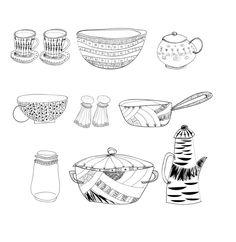 kitchen elements by Ena Sadikovic