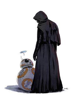 Star Wars, BB8, Kylo Ren