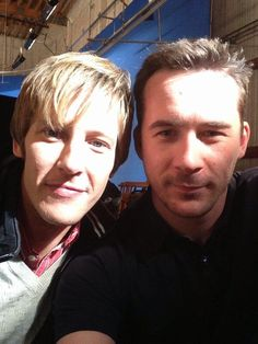 Gabriel Mann and Barry Sloane from Revenge