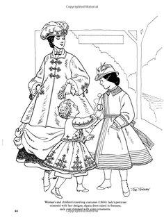 Civil War Fashions Coloring Book (Dover Fashion Coloring Book): Amazon.co.uk: Tom Tierney: 9780486296791: Books