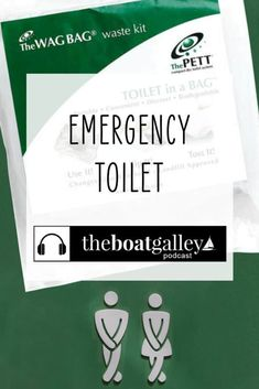 Has your head failed? Or are you making repairs? Here's how to set up an emergency toilet. Living On A Boat, Composting Toilet, Biodegradable Products, Fails, Meant To Be, Learning, Studying, Make Mistakes, Teaching