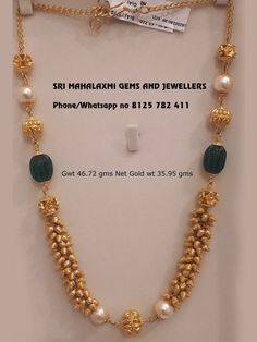 Get the most different type of unique designs made with utmost care. Visit for best designs ready selection or made to order express delivery. Contact no 8125 782 411 04 October 2018 Pearl Necklace Designs, Jewelry Design Earrings, Gold Earrings Designs, Gold Jewellery Design, Handmade Jewellery, Indian Gold Jewellery, Gold Chain Design, Gold Bangles Design, Handmade Bracelets