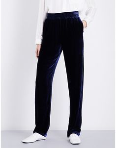 Dion Lee Wide-leg velvet trousers | Aussie designer Dion Lee's velvet trousers are laidback decadence at its finest. If their cut was a flare, you might feel obliged to style them for post six events only. As it happens, they're cut in a relaxed fit with a wide leg that isn't excessively roomy.