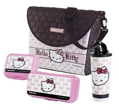 Tupperware | Hello Kitty(r) Fashion Lunch Set: The cutest Hello Kitty set that doubles as a backpack