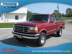 1995 ford f150 xlt - ole red what he looked like when he was new.