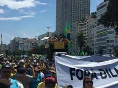 #ForaPT em Copacabana