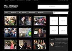 MiniMagazine Dark Magazine News WordPress Theme