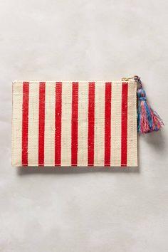 Bonjour Tasseled Clutch by Kayu #anthrofave