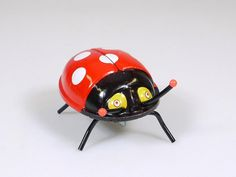 K Walking Lady-Bug Marienkäfer Wind Up Japan Mechanical Blech OVP 1402-21-18 | eBay
