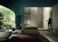 Hansgrohe Axor bathroom suite.