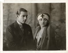Alice Terry and Rudolph Valentino in Four Horsemen of The Apocalypse1921