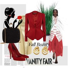 A fashion look from November 2013 featuring Alexander McQueen, high heel shoes and shoulder handbags. Browse and shop related looks. Beauty Vanity, Vanity Fair, Alexander Mcqueen, Evening Dresses, Marco Bicego, Antonio Marras, Bride, Chai, Fountain