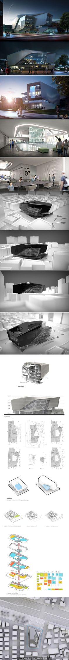 Architects: ŁukaszWawrzeńczyk, Frisly Colop Morales, Jason Easter, Adrian Yau onebynine.com