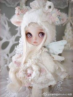 Pretty Dolls, Beautiful Dolls, Anime Dolls, New Dolls, Doll Repaint, Doll Maker, Eye Art, Doll Crafts, Custom Dolls
