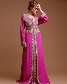 Kaftan, Caftan Dress, Arabic Dress, Moroccan Caftan, Oriental Fashion, Fashion Outfits, Womens Fashion, Stylists, Style Inspiration