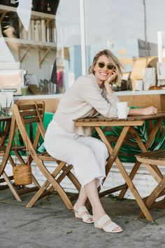 A Week of Outfits: Elaina Bellis Autumn Winter Fashion, Spring Fashion, New York To Paris, Cup Of Jo, Simple Style, My Style, Effortless Chic, Fashion Advice, My Outfit