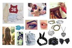 """""""Untitled #49"""" by cocoh1-1 ❤ liked on Polyvore featuring Charlotte Tilbury, Casetify, H&M, Boohoo, Marc Jacobs, Eos, One Button, Wet Seal, Blee Inara and Effy Jewelry"""