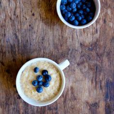 Creamy vegan vanilla bean rice pudding. No added sugar and gluten free!