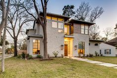 Builder: Legion Custom Home Builders Custom Home Builders, Custom Homes, Oaks House, Windows And Doors, Mansions, House Styles, Garden, Modern, Beautiful