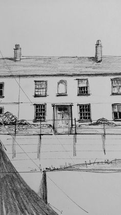 Home - Sally Atkins Charlestown Cornwall, Pencil Shading, Atkins, Sally, Terrace, Sketch, Illustrations, Portrait, Detail