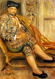 Pierre-Auguste Renoir (French 1841–1919) [Impressionism] Ambroise Vollard Portrait.