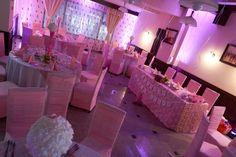 Decor tematic pentru botez la Pensiunea Margo #pinktheme Pink Themes, Decor, Decoration, Decorating, Interiors, Deco, Decorations, Deck, Ornaments