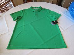 Men's Nike RARE Tennis polo shirt dri fit stay cool active 453247 green large L