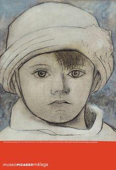 """Paul, el único hijo de Picasso y Olga Khokhlova, nació en febrero de 1921. Su """"Retrato de Paul con gorro blanco"""" que se muestra en las salas permanentes del MPM se cree basado en una fotografía tomada en 1923 en los jardines de los Champs-Elysées. Es un retrato en el que las formas están definidas por líneas negras semejantes, aplicadas con rapidez, que destaca por su intimidad e inmediatez.  Si te gusta esta pintura, encontrarás su reproducción en lámina en la #LibreríaMPM."""