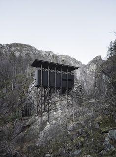 Peter Zumthor, Aldo Amoretti · Zinc Mine Museum at Allmannajuvet