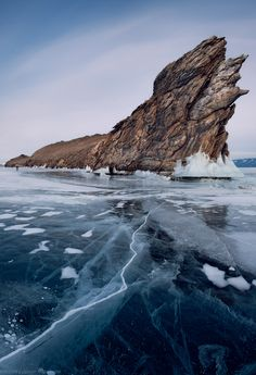 Lake Baikal, world's largest, deepest and clearest lake, Siberia, Russia