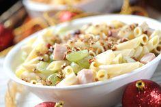 Pasta fría Navideña | Cocina y Comparte | Recetas