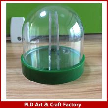 Plastic mini Empty Snow dome cheap wholesale made in China