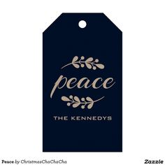 Peace Pack Of Gift Tags
